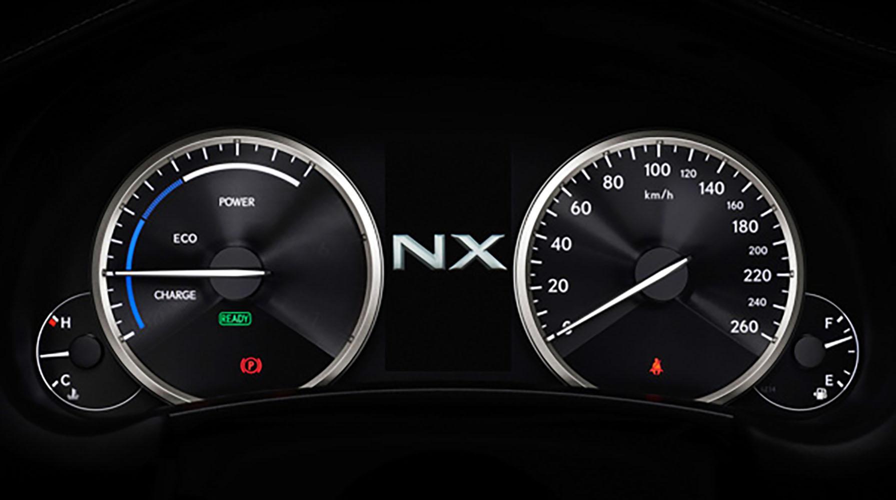 Nx Hybrid System Indicator